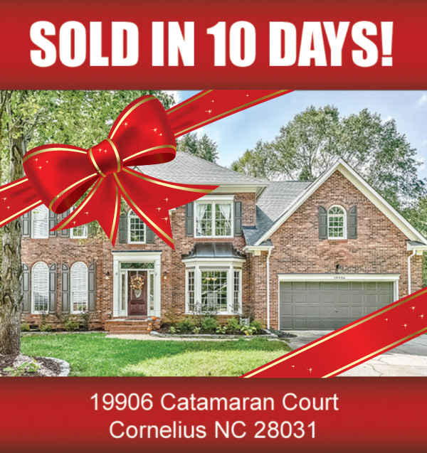 Lake Norman Nc Real Estate: (SOLD IN 10 DAYS) 19906 Catamaran Court