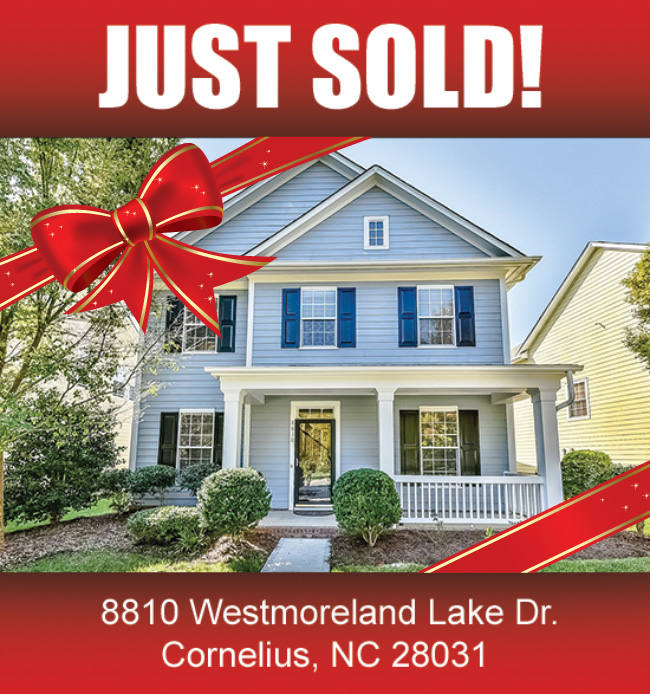 Lake Norman Nc Real Estate: (SOLD) 8810 Westmoreland Lake Dr., Cornelius, NC 28031