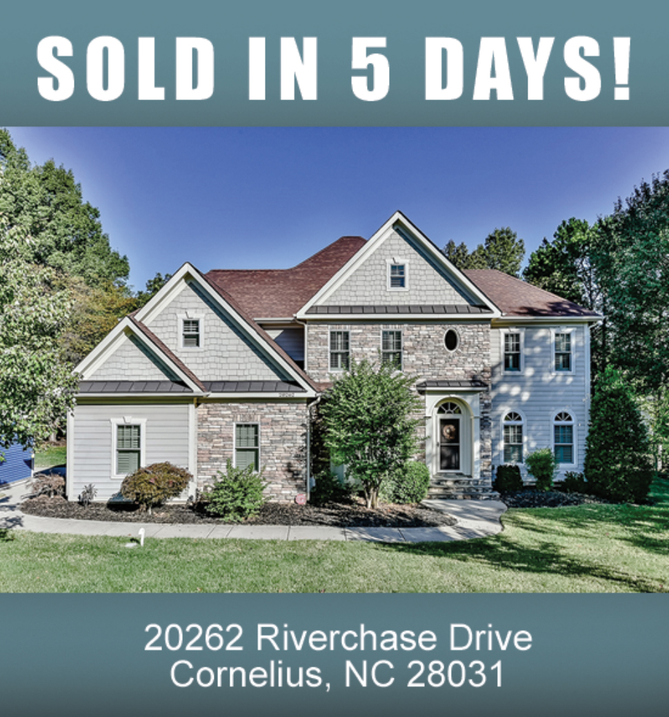 Lake Norman Nc Real Estate: (SOLD IN 5 DAYS) 20262 Riverchase Drive, Cornelius, NC