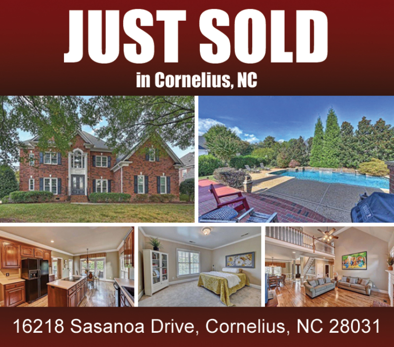 Lake Norman Nc Real Estate: Another Happy Buyer In Cornelius!